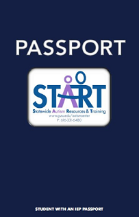 Student with an IEP Passport